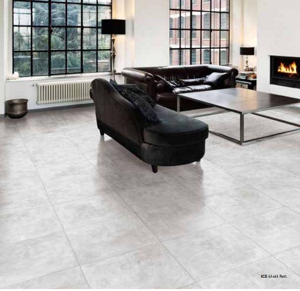 Interni gres porcellanato smaltato argille 60x60 naturale - Prezzo posa piastrelle 60x60 ...
